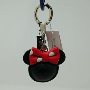 Kate Spade New York Minnie Mouse Key Fob (NWT)